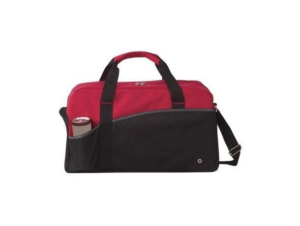 bolsa de deporte roja personalizada