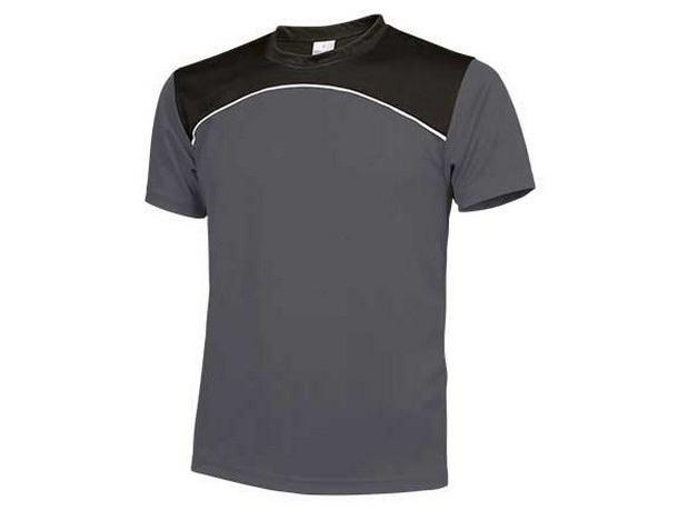 camiseta gris tecnica