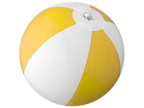 pelota de playa bicolor personalizada