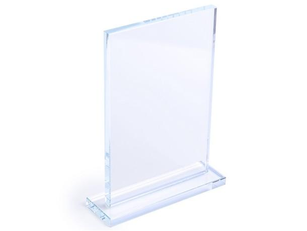 placa de cristal para trofeo
