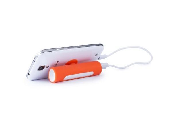 powerbank naranja personalizada