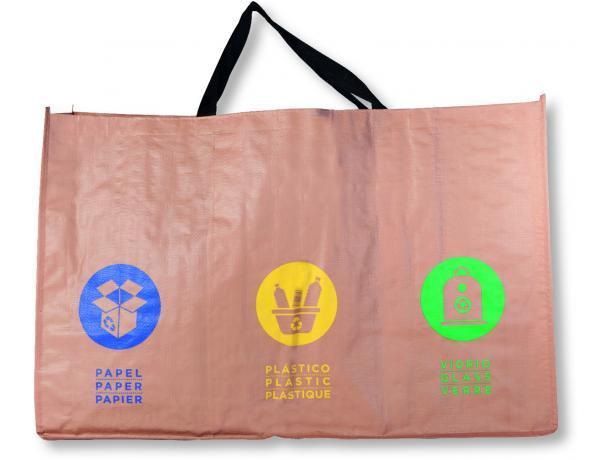 Bolsa reutilizable reciclaje