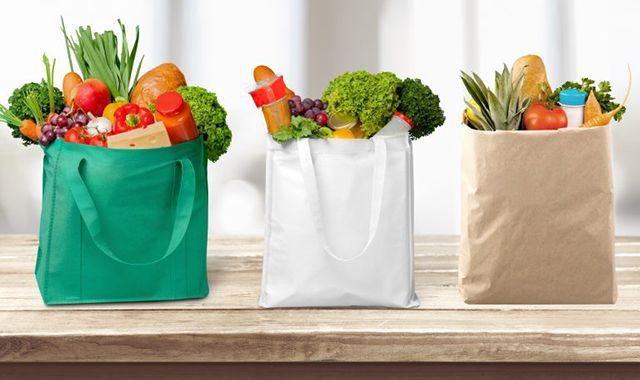 Bolsas reutilizables tela ecológica