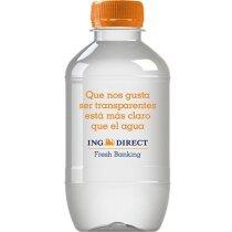 Botella de agua de 25 cl para impresión directa personalizada