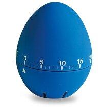 Cronómetro de cocina huevo personalizado azul