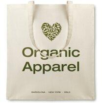 Bolsa de algodón orgánico personalizado