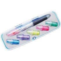 Estuche de bolígrafo con marcadores personalizado