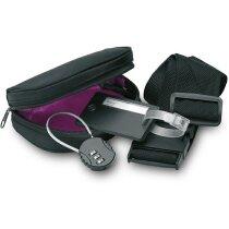 Set de viaje con 3 accesorios para maleta personalizado negro