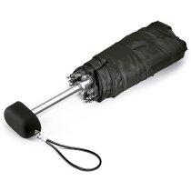 Paraguas de mano plegable personalizado negro