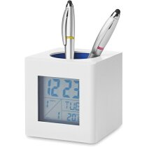 Cubilete estación meteorológica personalizado blanco/gris