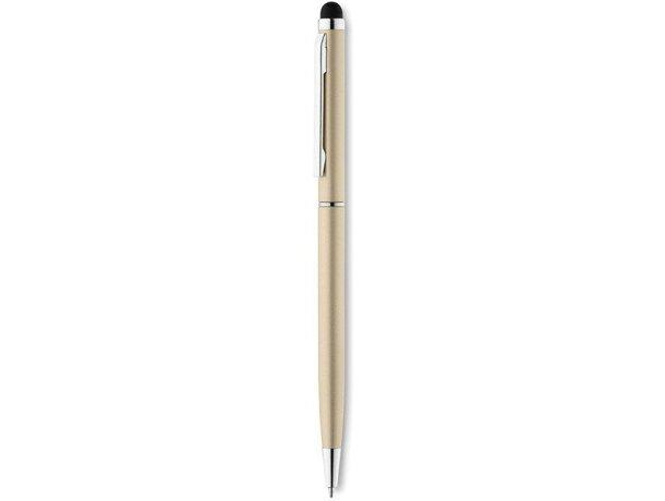 Bolígrafo con puntero y clip cuadrado original
