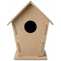 Caseta de madera para pajaritos personalizada madera