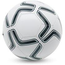 Balón de fútbol en  pvc blanco/negro