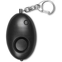 Llavero con mini alarma negro