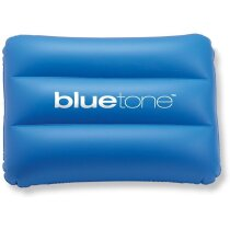 Almohadilla cómoda para playa personalizada azul