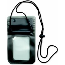 Funda para teléfono smartphone personalizada gris transparente