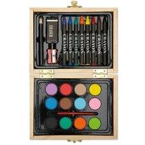 Caja de madera para pintar barata personalizado