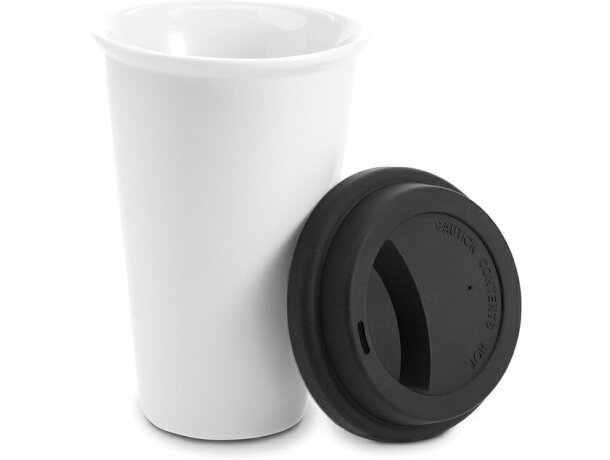 Vaso de plástico con tapa de doble pared personalizado