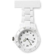 Reloj De Enfermera Analogico De Color Barato Blanco