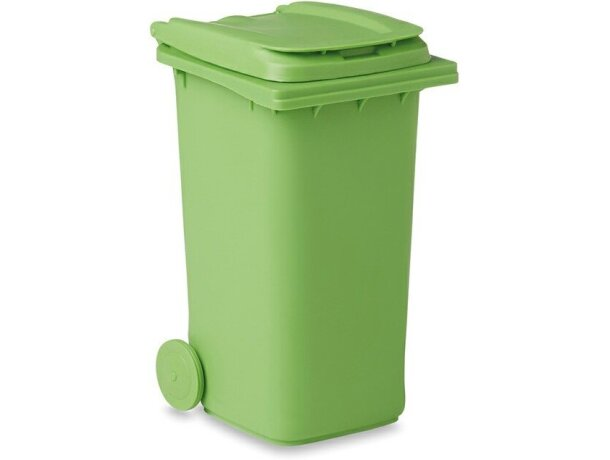 Lapicero contenedor verde personalizado