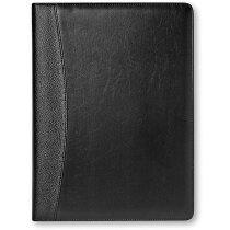 Portafolios A4 con calculadora negro personalizado negro