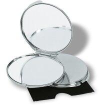 Espejo cromado con funda