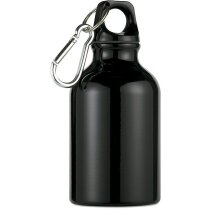 Botella de aluminio para excursiones personalizada negra