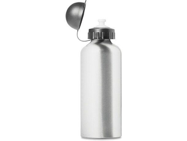 Bidón botella de metal 600 ml con logo