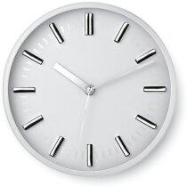 Reloj de pared redondo sin números personalizado blanco