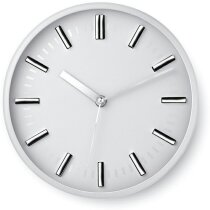 Reloj de pared redondo sin números