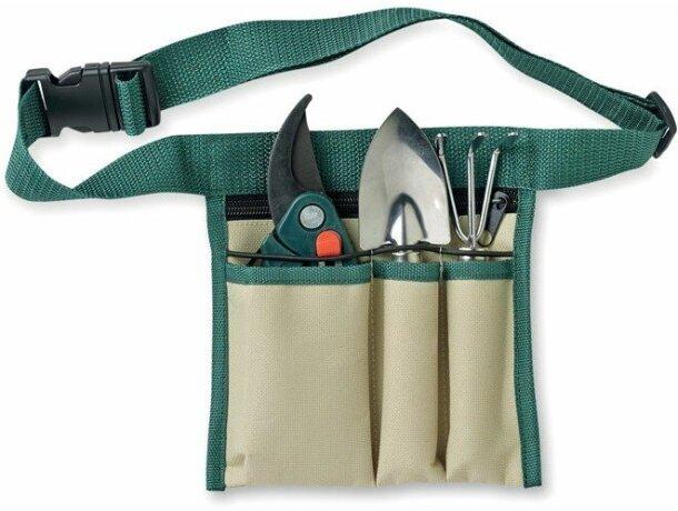 Set de herramientas de jardín con cinturón