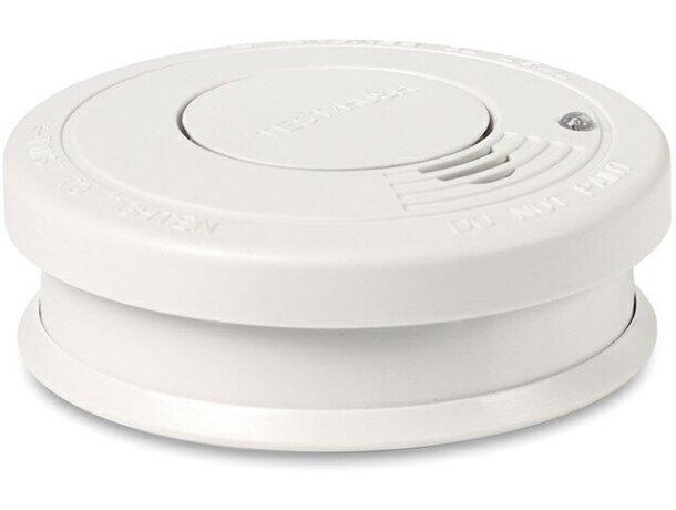 detector de humos para casa blanco