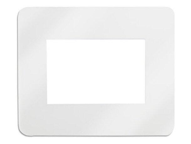 Alfombrilla para fotos personalizada blanca