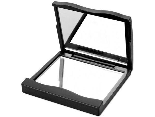 Espejo de plástico profesional personalizado negro