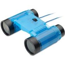 Prismáticos plegables de color translúcido personalizado azul transparente