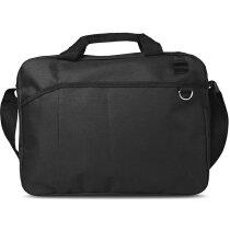 Bolsa portadocumentos para congresos y reuniones personalizada negra