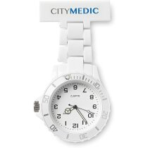 Reloj de enfermera analógico de color personalizado