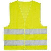 Chaleco de seguridad para niños personalizado amarillo