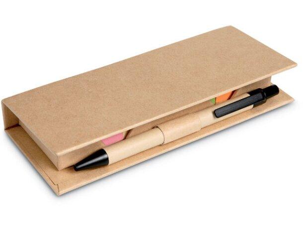 Set de oficina en caja cartón merchandising