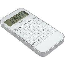 Calculadora de diseño plano blanca personalizada
