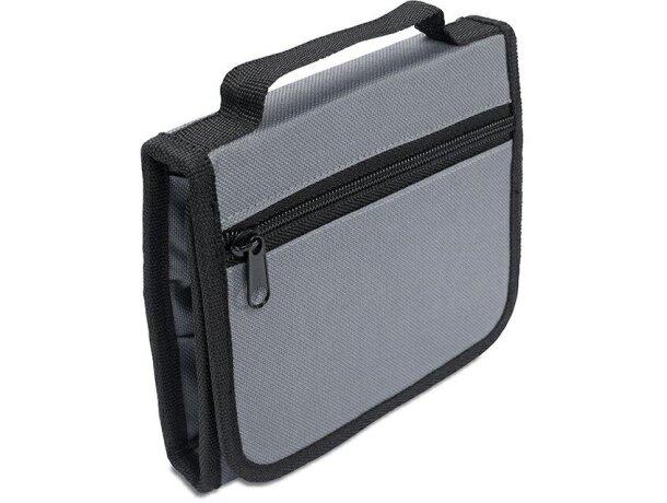 Maletín de herramientas personalizado gris claro