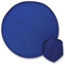 Disco volador de nylon personalizado azul