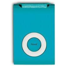 Podómetro con forma de ipod personalizado azul