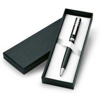 Estuche de bolígrafo metálico personalizado negro