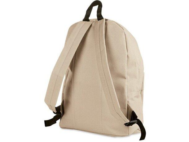 Mochila lisa con bolsillo exterior personalizada