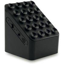 Altavoz con batería recargable de litio personalizada negra