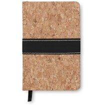 Cuaderno tamaño A6 con tapas de corcho personalizado marron