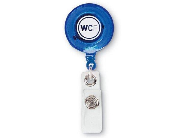 Insignia con clip para identificación personal