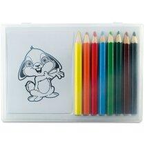 Pack de lápices de colores con dibujos