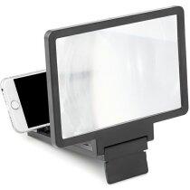 Ampliador de pantalla para móvil personalizado negro